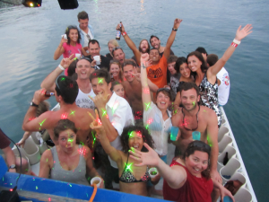 Start your weekend right on our weekly Booze Cruise!