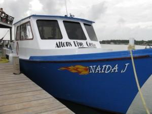 The Naida J Dive Boat
