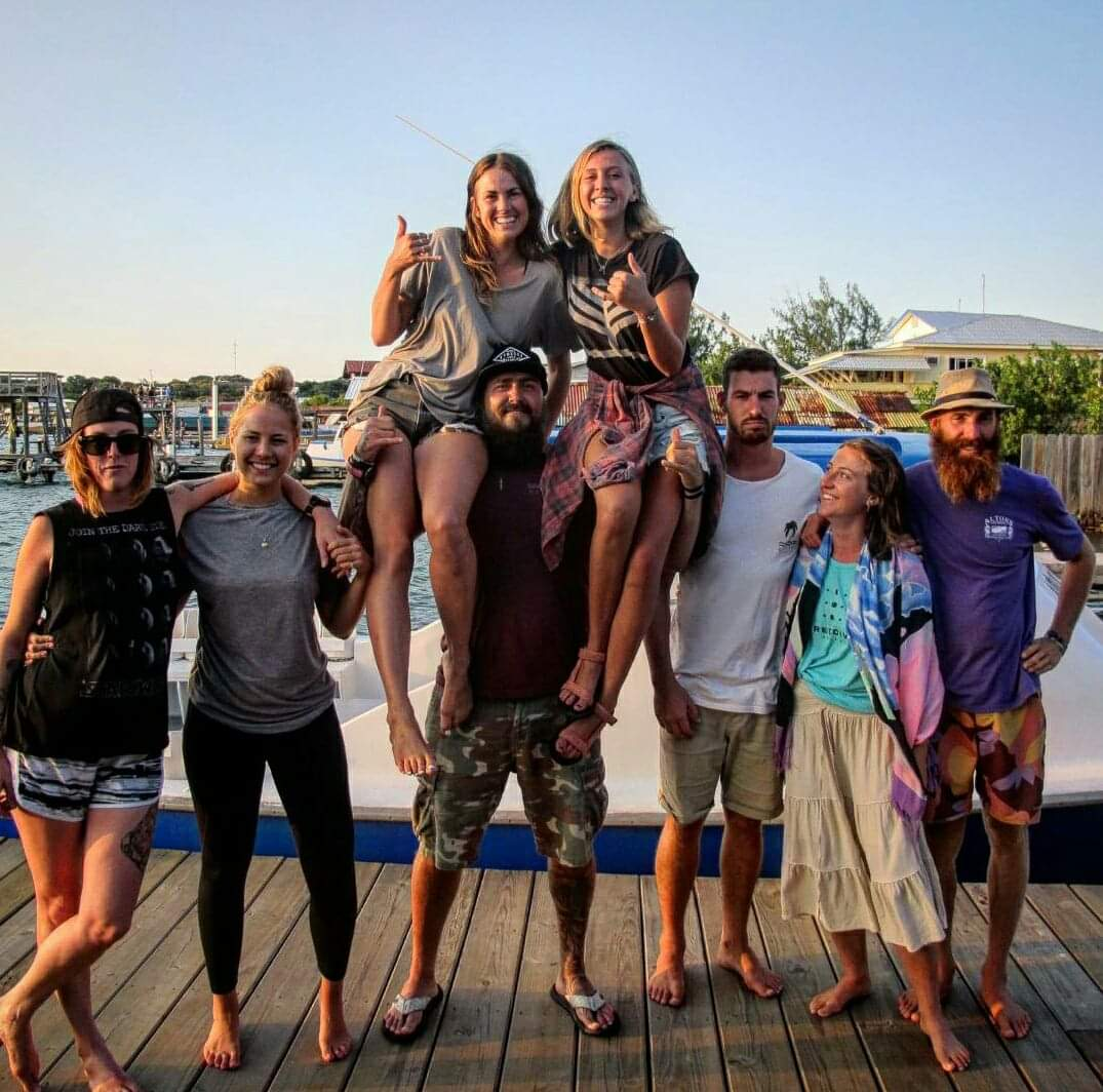 Class of Divemaster Trainees