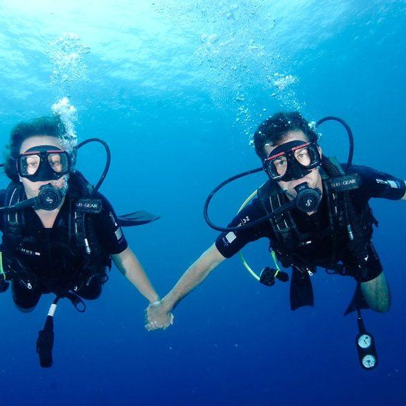 Couple Open Water 2